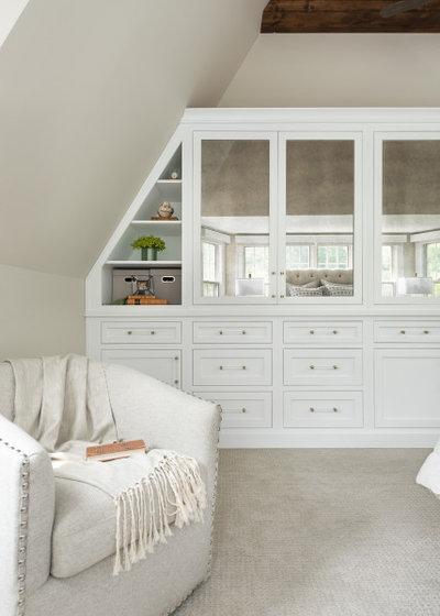 American Traditional Bedroom by Sarah Coe Design LLC