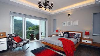 Master suite, Munnar Villa