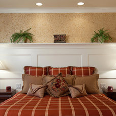 traditional bedroom by Provanti Designs, Inc