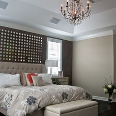 Contemporary Bedroom by DawnElise Interiors