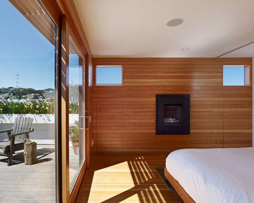 schlafzimmer im loft style mit kaminsims aus metall einrichten ideen bilder deko houzz. Black Bedroom Furniture Sets. Home Design Ideas