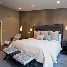 Contemporary Bedroom by L.S. Design