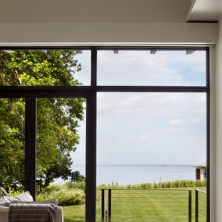 Master Suite Sitting Area - An amazing view to the Chesapeake Bay!