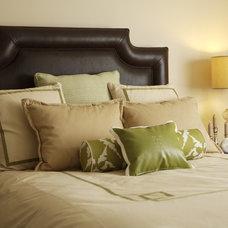 Eclectic Bedroom by Susan Brunstrum of SWEET PEAS DESIGN INC