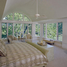 Traditional Bedroom by DW Ricks Architects + Associates, PC