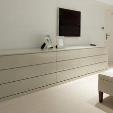 Contemporary Bedroom by Yorkshire Design Associates