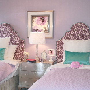 Inspiration for a shabby-chic style bedroom remodel in Calgary
