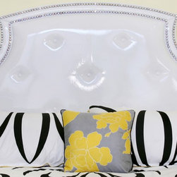 Mattise Bed - Diamond Head Upholstery Tack