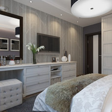 Transitional Bedroom by Shmidt Studio