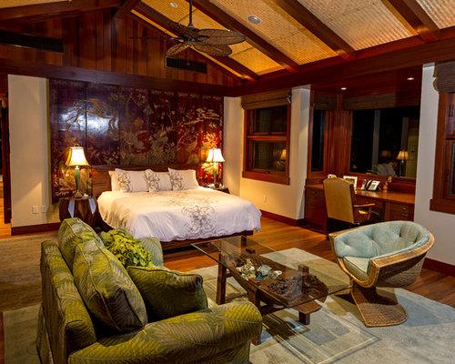 asiatische schlafzimmer mit bambusparkett ideen design. Black Bedroom Furniture Sets. Home Design Ideas