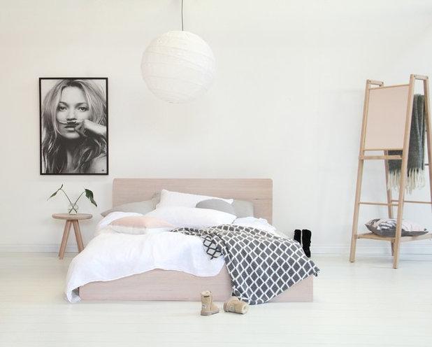 Scandinavian Bedroom by MuBu Home