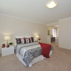 Contemporary Bedroom by Mr. Home Staging