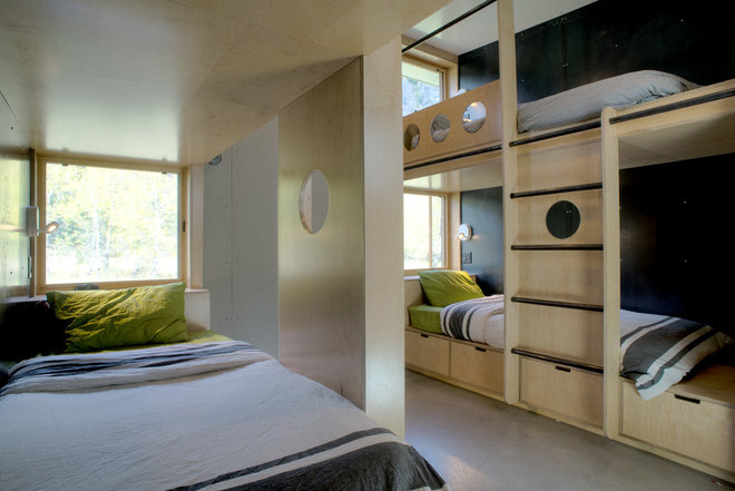 Contemporary Bedroom by CAST architecture