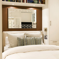 Contemporary Bedroom by Natasha Wallis