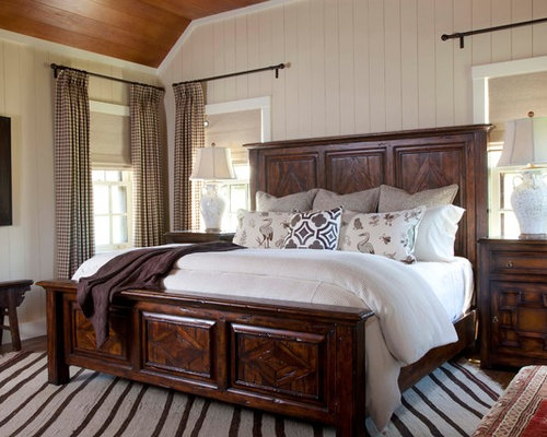Rustic Bedroom Curtains Home Design Ideas Photos