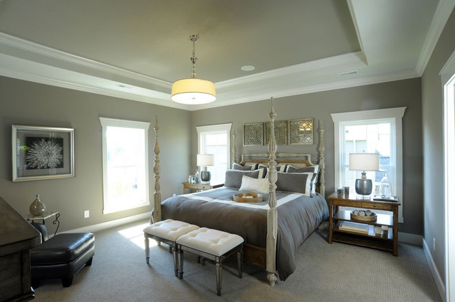 Traditional Bedroom by Weaver Custom Homes
