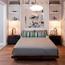 Contemporary Bedroom by Insight Design Group
