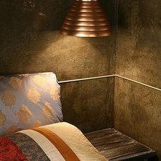 Eclectic Bedroom by Natalia Skobkina