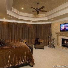 Mediterranean Bedroom by Architectural Designs
