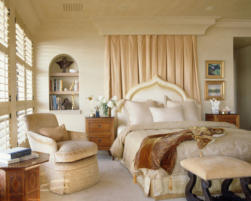Curtain Behind Headboard Home Design Ideas Pictures
