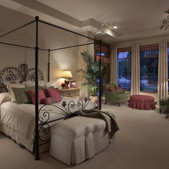 mediterranean bedroom by Ernesto Garcia Interior Design, LLC