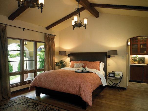 Mediterranean Bedroom by HartmanBaldwin Design/Build
