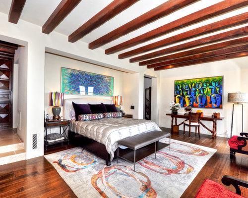 Mediterranean Los Angeles Bedroom Design Ideas, Pictures, Remodel & Decor