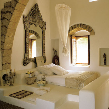 Mediterranean arabic home design photos decor ideas for Mediterranean style bedroom