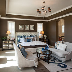 eclectic bedroom by Maracay Homes Design Studio