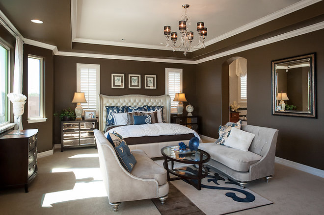 Mediterranean Bedroom by Maracay Homes Design Studio