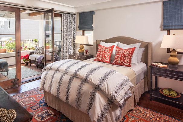 Mediterranean Bedroom by Norman Design Group, Inc.