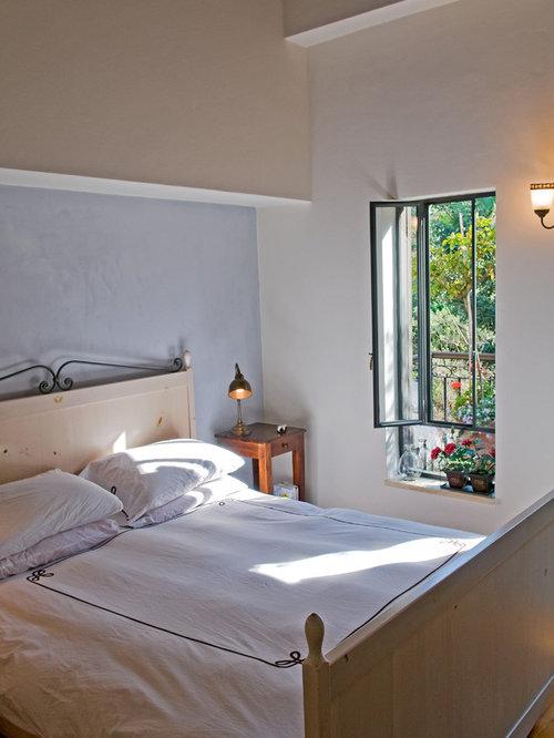 rustic bedroom design purple color scheme   Rustic Bedroom Design Ideas, Renovations & Photos with ...