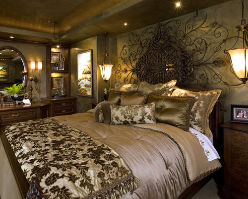 luxurious master bedroom houzz 12173 | d7c175db0f4fe8b6 0458 w500 h400 b0 p0 mediterranean bedroom