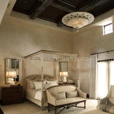 Mediterranean Bedroom by Slovack-Bass