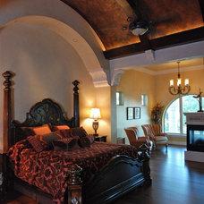 Mediterranean Bedroom by Stadler Custom Homes