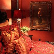 Mediterranean Bedroom mediterranean castle style bedroom