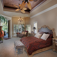 Mediterranean Bedroom by Weber Design Group, Inc.