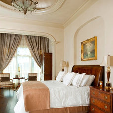 Mediterranean Bedroom by AVID Associates LLC