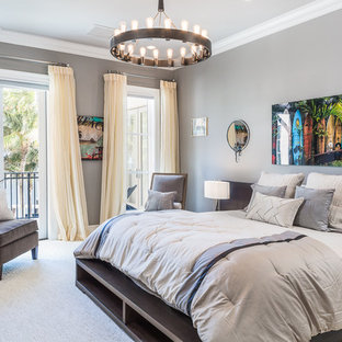 . 75 Beautiful Bedroom with Gray Walls Pictures   Ideas   Houzz