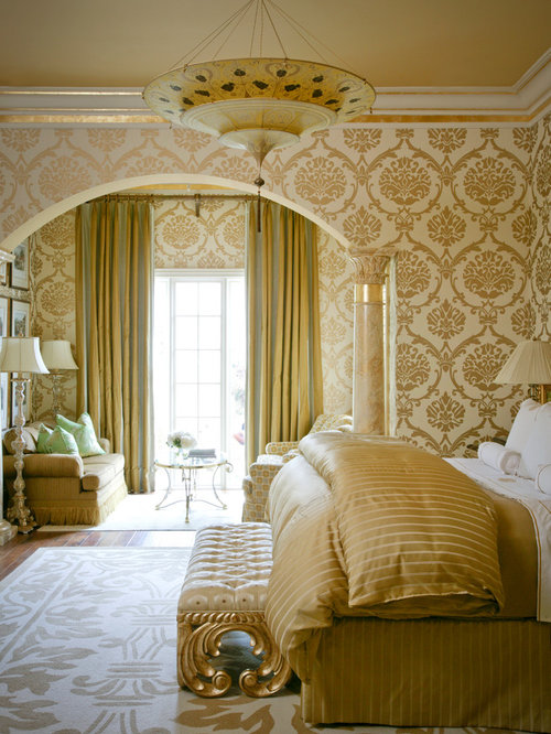 Gold Bedroom Houzz