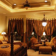 Mediterranean Bedroom by Diamante Custom Homes