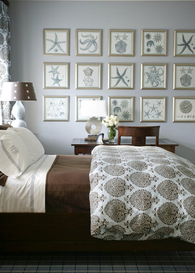 Beach Style Bedroom by Tobi Fairley Interior Design