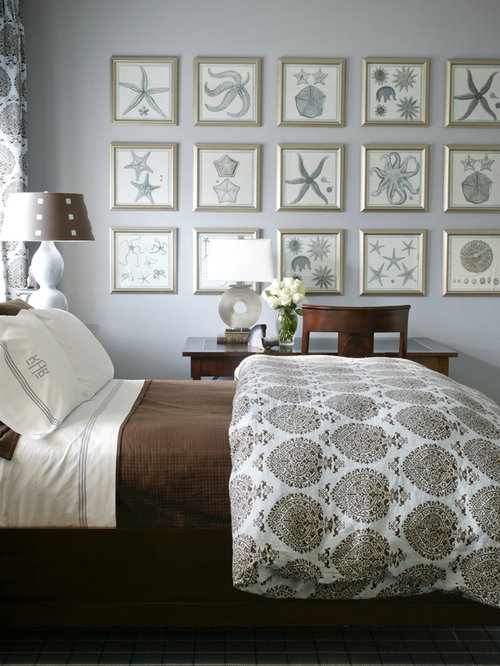 Bedroom Art Wall | Houzz