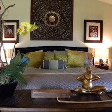 Asian Bedroom by Sarah Greenman