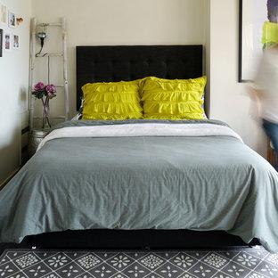 Bedroom - eclectic bedroom idea in Melbourne
