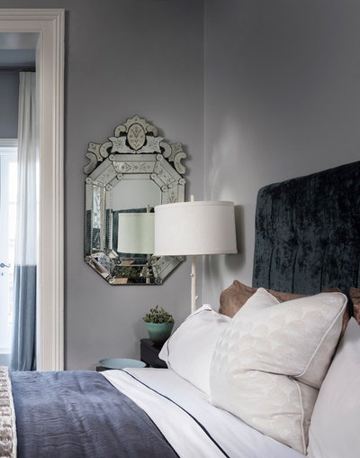 Transitional Bedroom by Danielle Trippett Interior Design