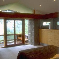 Contemporary Bedroom by Daniel Ruark, Architect