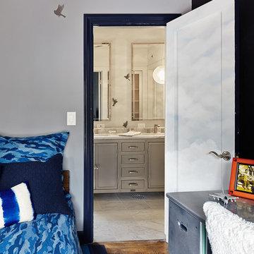 Menlo Park Boy's Bedroom & Bath