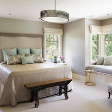 Traditional Bedroom by ScavulloDesign Interiors
