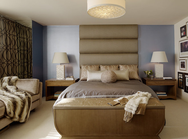 Eclectic Bedroom by ScavulloDesign Interiors